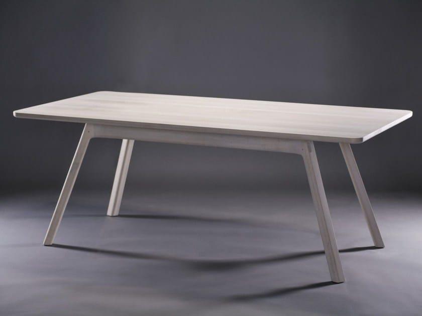 Rectangular wooden table JUGO - Artisan