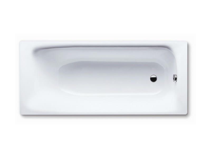 Vasca da bagno rettangolare in acciaio smaltato da incasso sanilux kaldewei italia - Vasche da bagno in acciaio smaltato ...