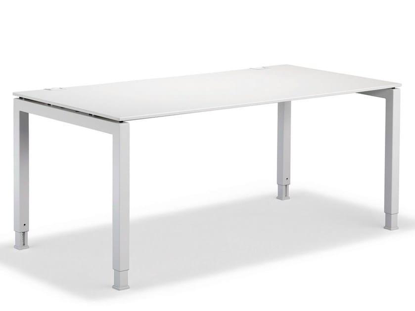 Rectangular workstation desk BASIC4 | Workstation desk - König + Neurath