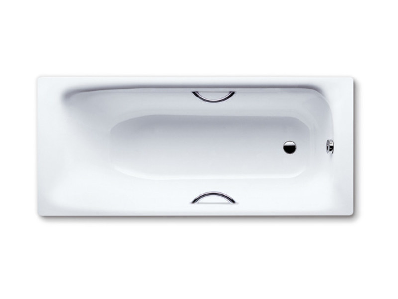 Vasca da bagno rettangolare in acciaio smaltato da incasso sanilux star by kaldewei italia - Vasche da bagno in acciaio smaltato ...