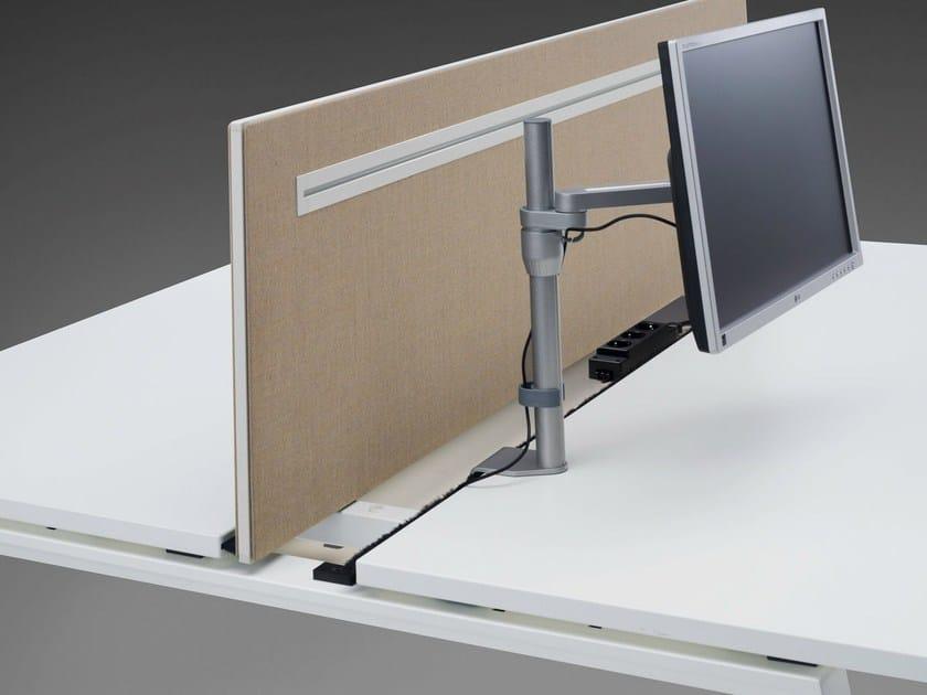 Workstation screen desktop partition DO IT.4 | Workstation screen - König + Neurath
