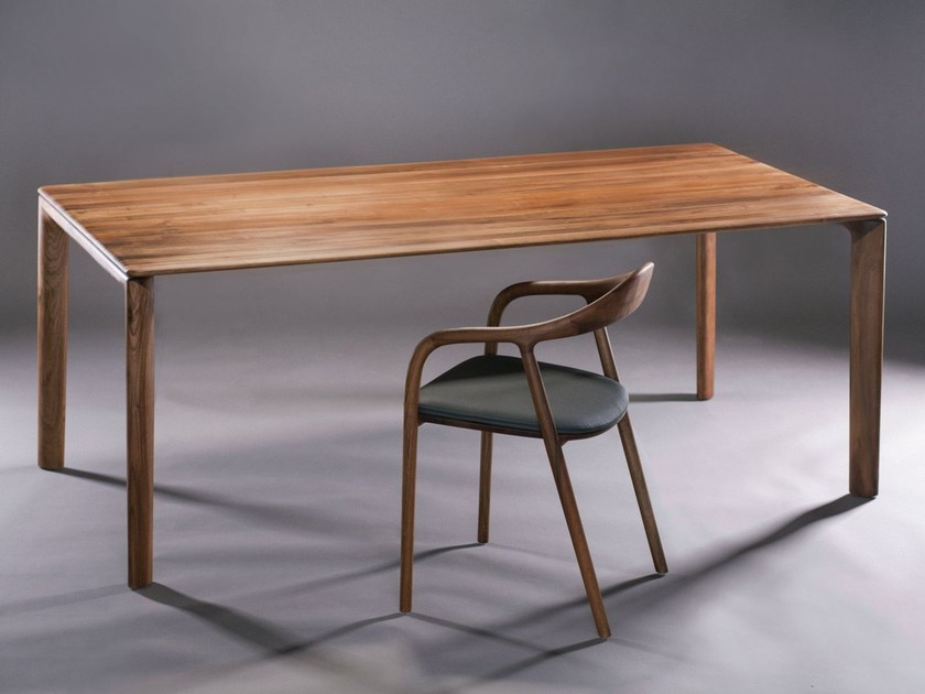 Rectangular wooden table NEVA | Table - Artisan