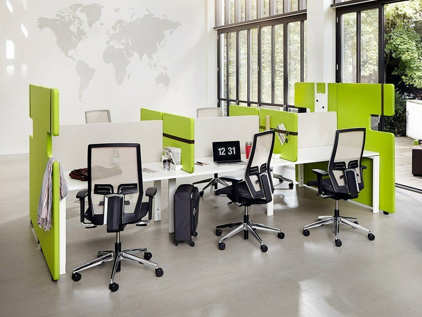 Multiple office workstation TEAM.WORK.SPACE | Multiple office workstation - König + Neurath