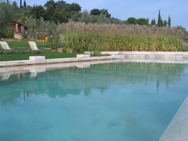 In-Ground Infinity cement swimming pool In-Ground swimming pool - INDALO PISCINE