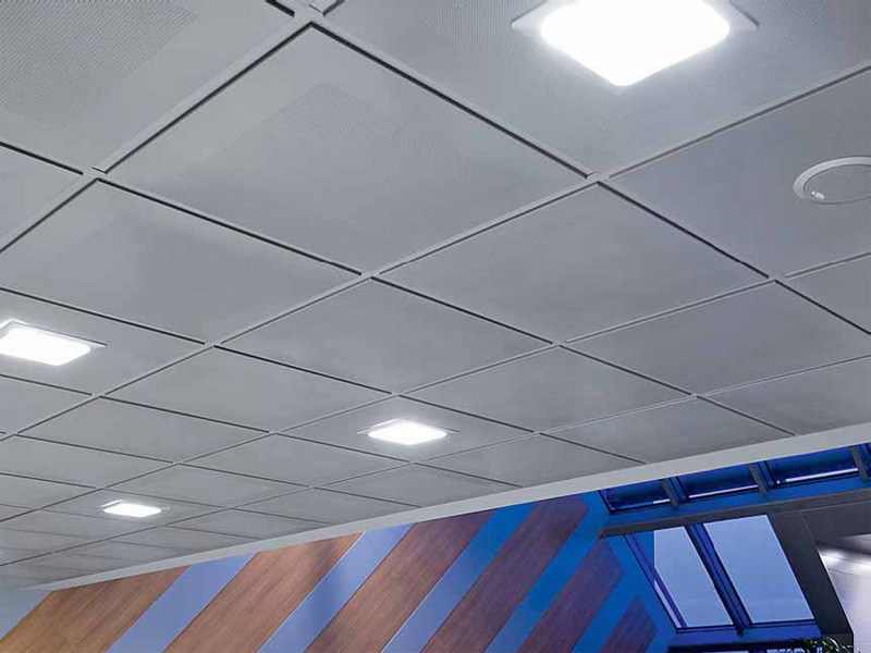 Galvanized steel ceiling tiles STAR METAL LAY-IN 24 - ITP
