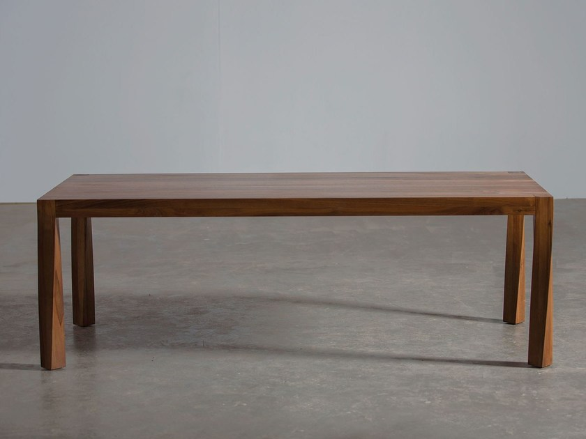 Rectangular wooden table TOR - Artisan