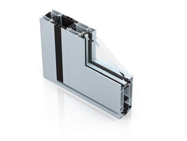 Aluminium patio door WICSTYLE 65 - 75 evo - WICONA