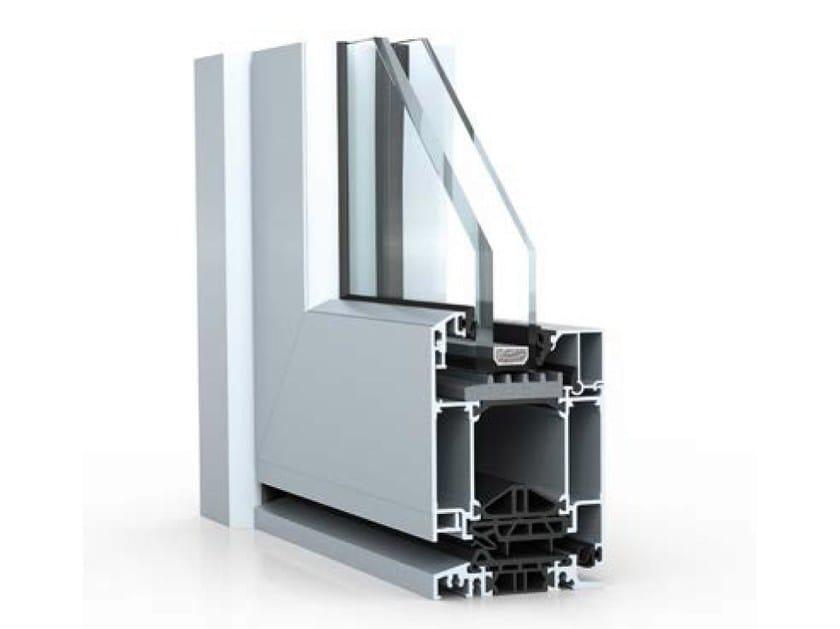 Aluminium patio door WICSTYLE 65 - 75 evo | Classic design - WICONA