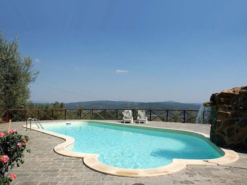 Piscine avec cascade by indalo piscine for Accessoire piscine 84
