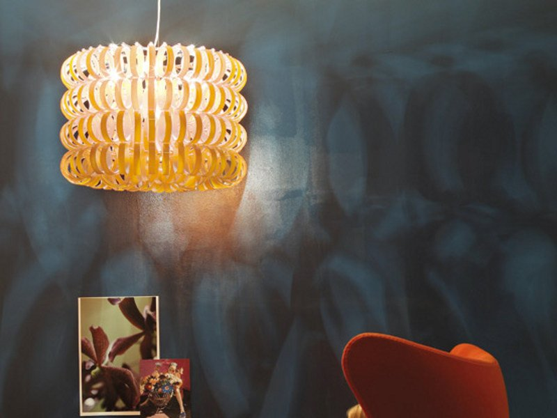 Glass pendant lamp ECOS SP 60B - Vetreria Vistosi