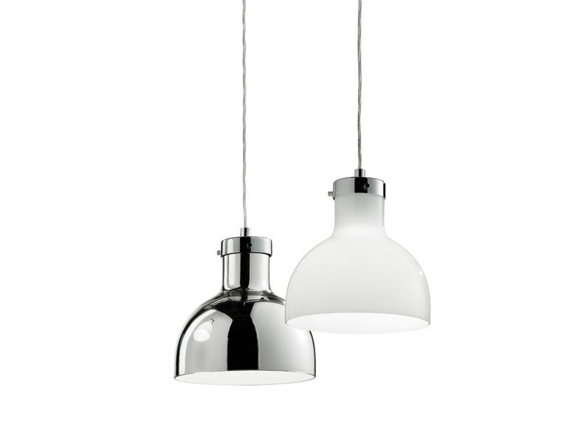 Blown glass pendant lamp ENNE LUCI SP - Vetreria Vistosi