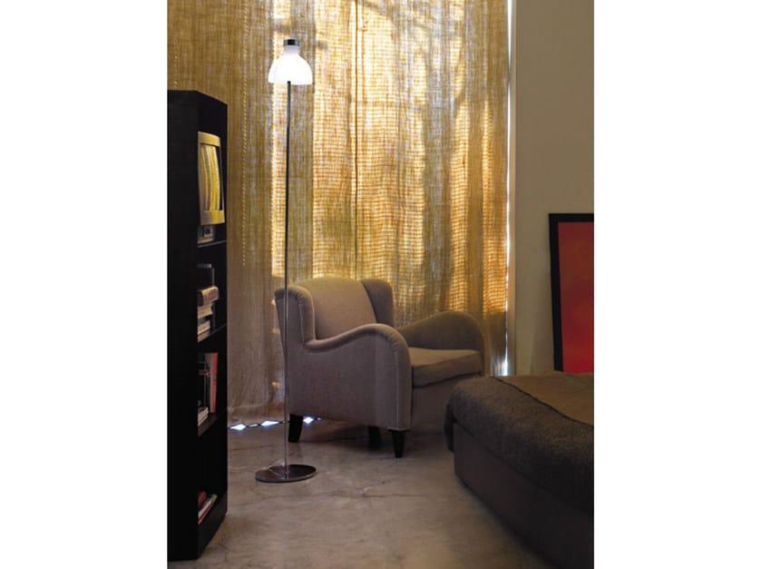 Blown glass floor lamp ENNE LUCI PT - Vetreria Vistosi