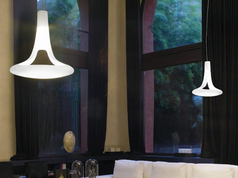 Murano glass pendant lamp FEREA SP by Vetreria Vistosi