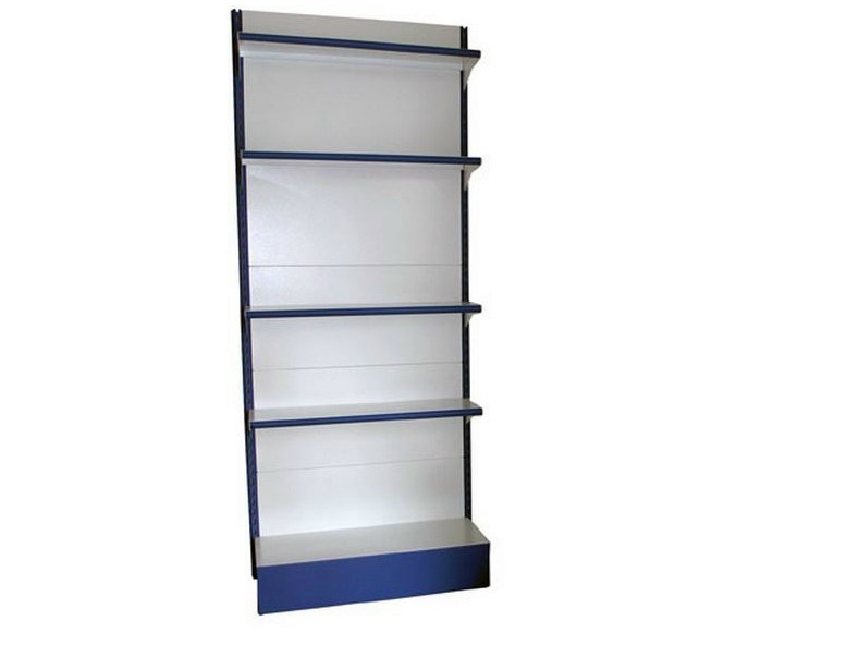 Steel shelveing system Self-service shelving by Castellani.it