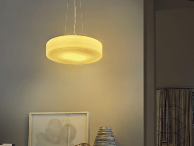 Glass pendant lamp FOLLIA SP 42 - Vetreria Vistosi