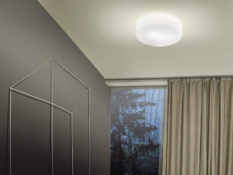 Glass ceiling light FOLLIA PP 42 - Vetreria Vistosi