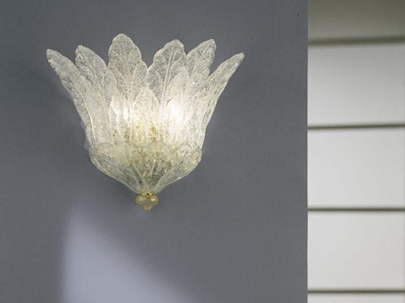 Blown glass wall lamp FUOCHI AP 7F - Vetreria Vistosi