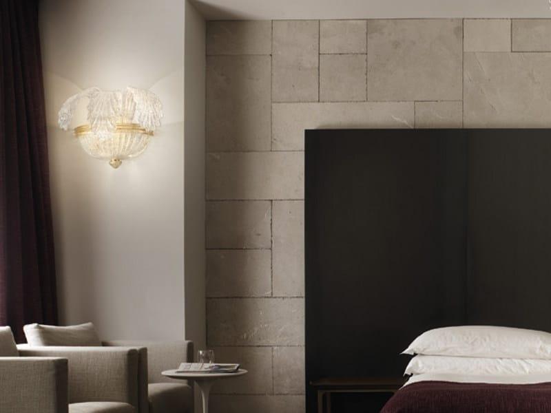 Glass wall lamp GIUBILEO AP 3F - Vetreria Vistosi