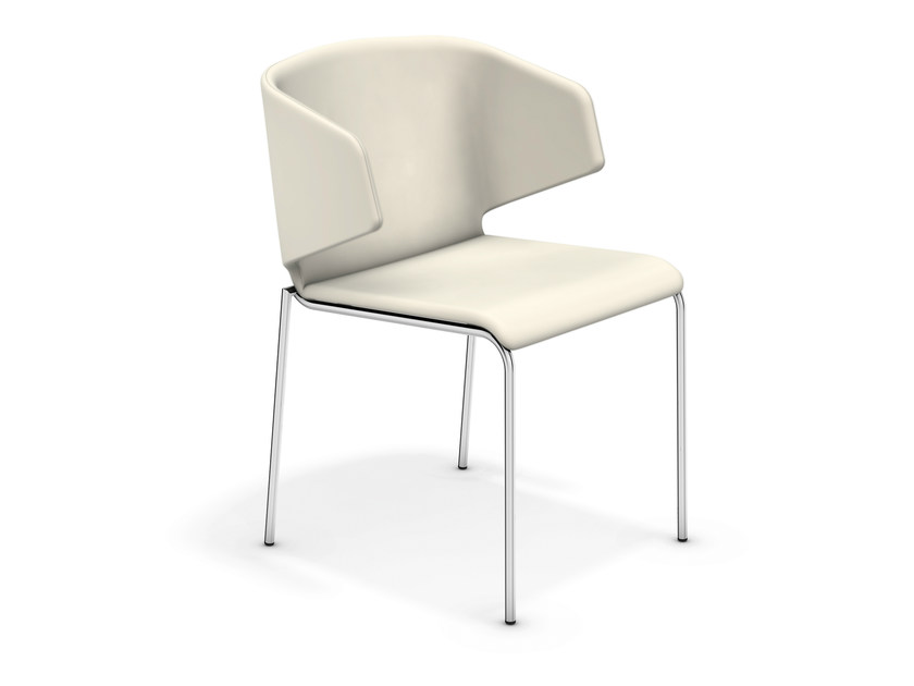 Upholstered reception chair CARMA III | Upholstered chair - Casala