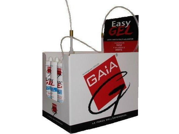 Chemical barrier anti-humidity system EASY GEL - GAIA