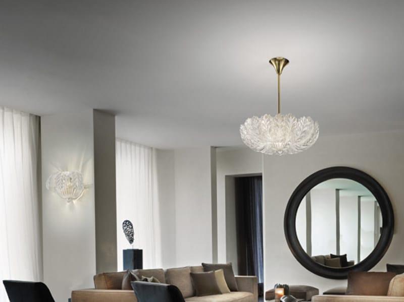 Glass pendant lamp GIUDECCA SP 20F by Vetreria Vistosi