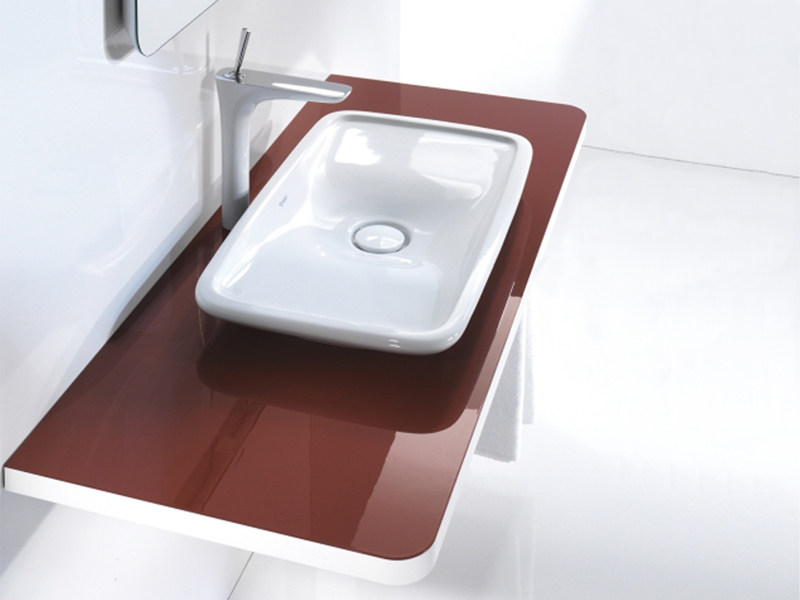 Wall-mounted vanity unit PURAVIDA | Vanity unit - DURAVIT