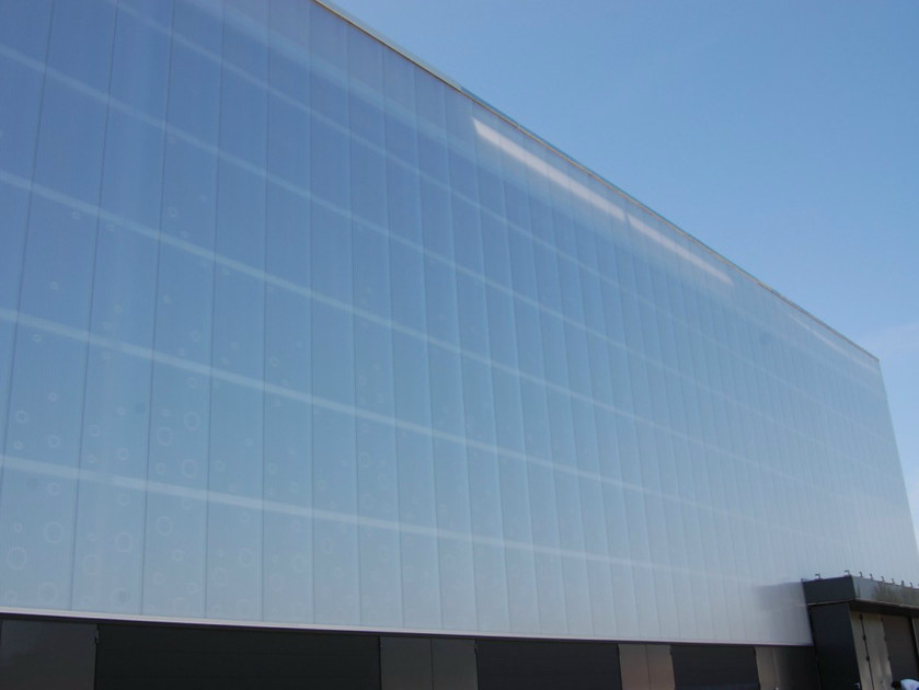 Translucent Material For Building External Walls