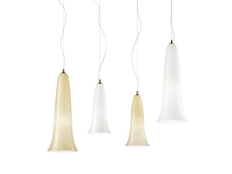 Blown glass pendant lamp GOTO SP - Vetreria Vistosi