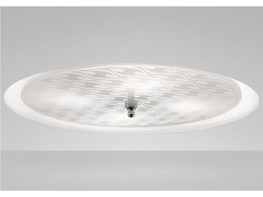 Wall lamp / ceiling lamp INCASS PP 45 - Vetreria Vistosi