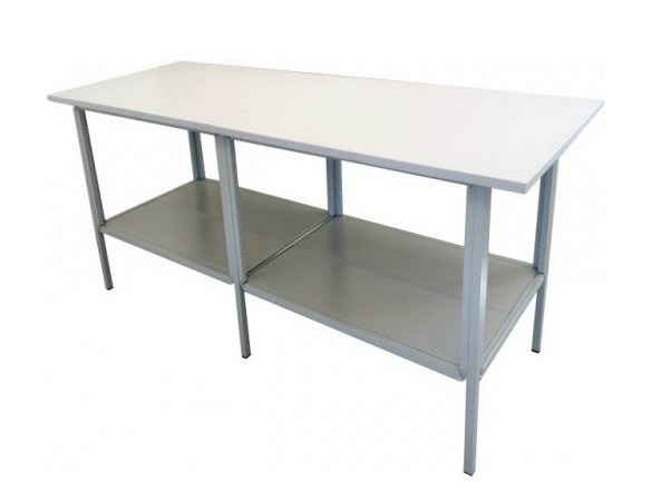 Melamine-faced chipboard workbench CAST - Castellani.it
