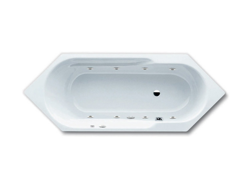 Whirlpool bathtub VIVO AQUA by Kaldewei Italia