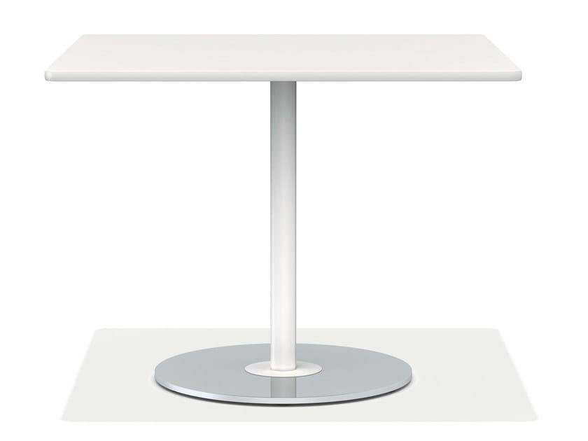 Square plastic table CASALINO | Square table - Casala