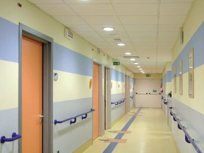 Moisture resistant mineral fibre ceiling tiles STAR TONE SANDED - ITP