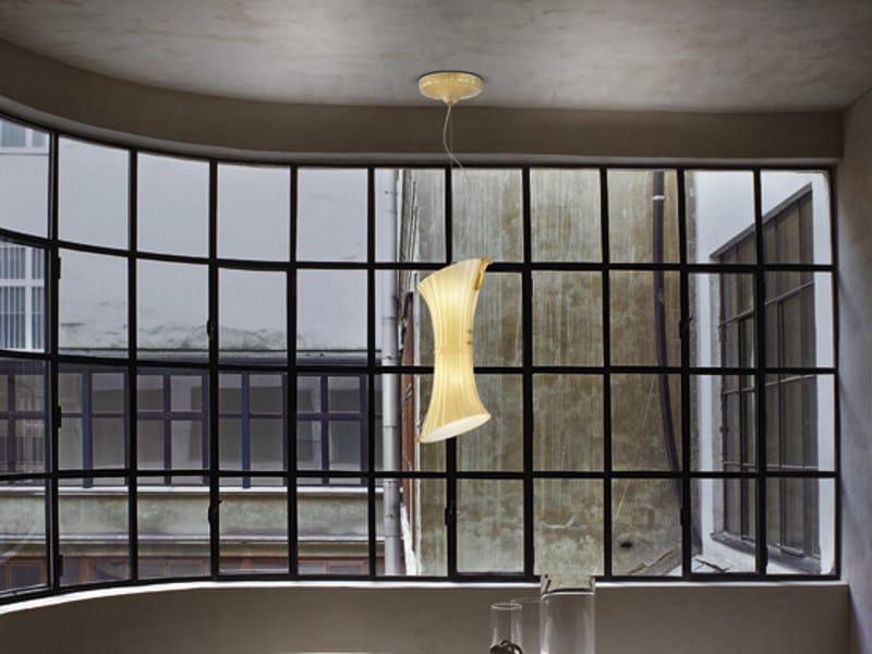 Blown glass pendant lamp LAGUNA SP - Vetreria Vistosi