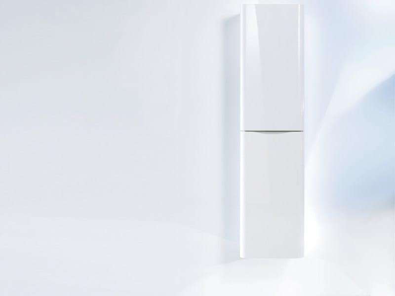 Tall suspended bathroom cabinet PURAVIDA | Bathroom cabinet - DURAVIT