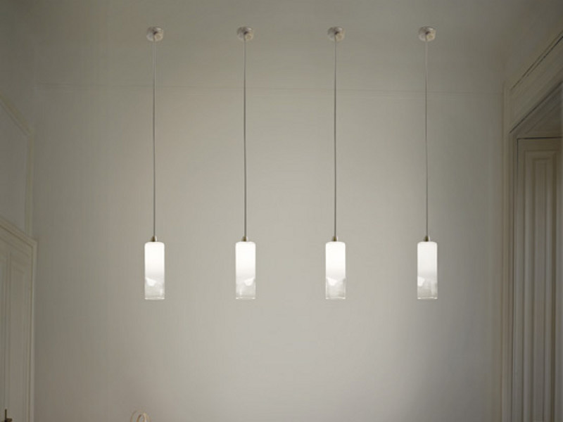 Glass pendant lamp LIO SP 1 P - Vetreria Vistosi