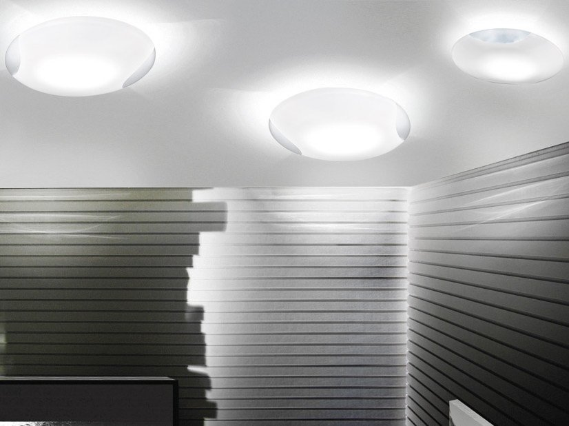 Glass ceiling light LIO PP - Vetreria Vistosi