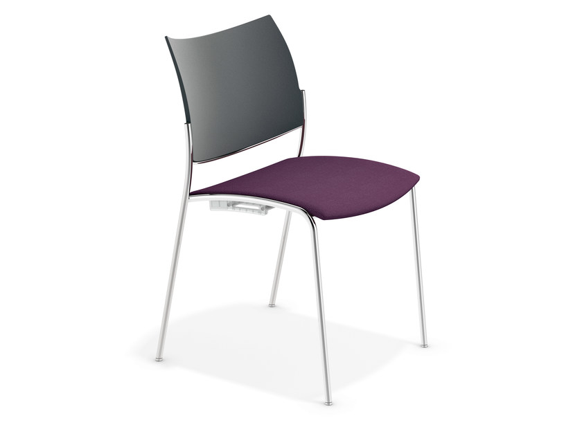 Stackable reception chair COBRA | Stackable chair - Casala