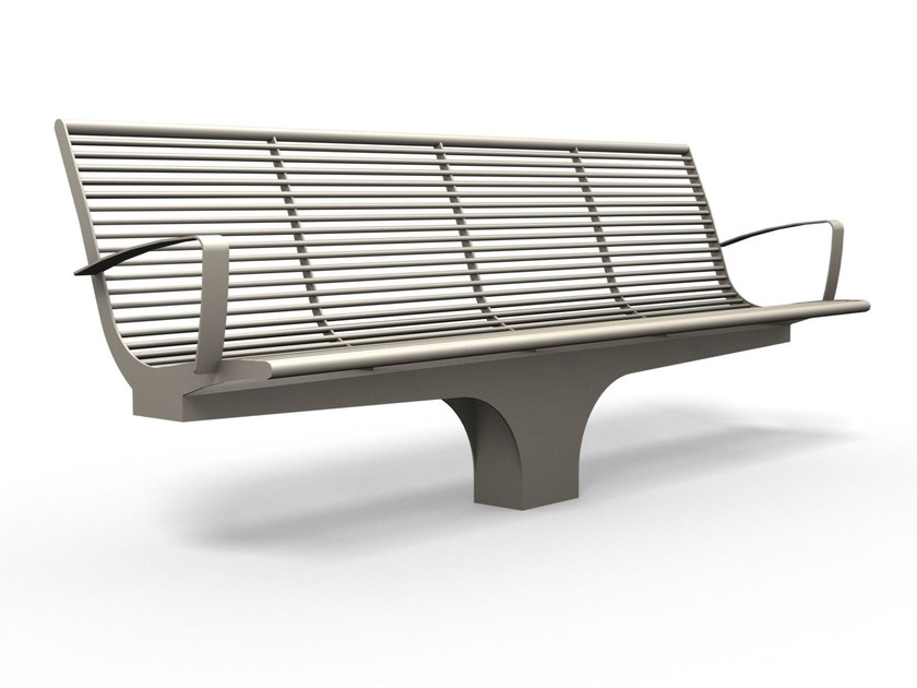 Bench with armrests SIARDO S 20 R | Bench with armrests by BENKERT BÄNKE