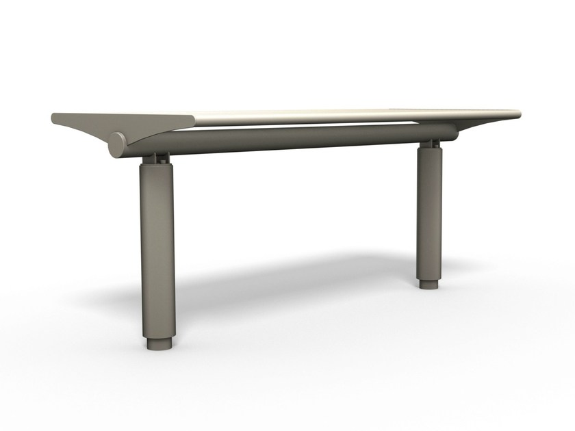 Rectangular Table for public areas SIARDO 400 R | Table for public areas by BENKERT BÄNKE