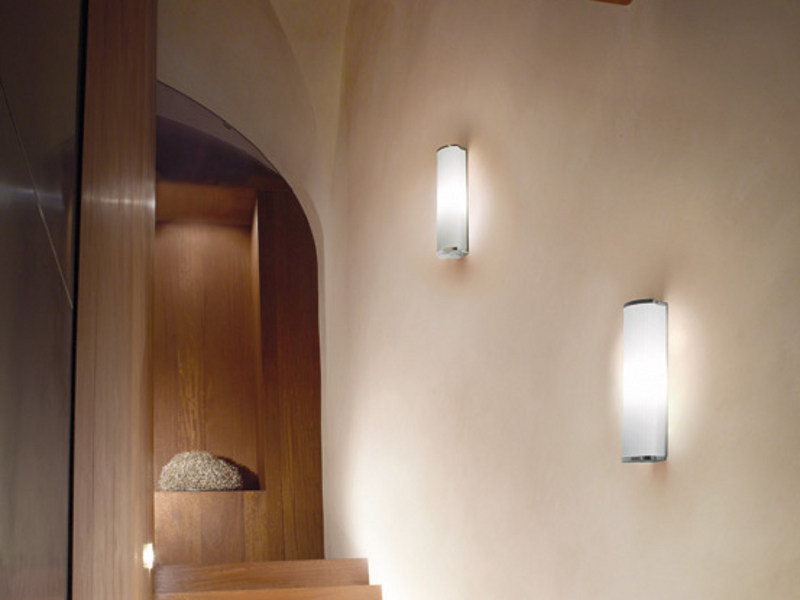 Glass wall light LUXOR AP by Vetreria Vistosi