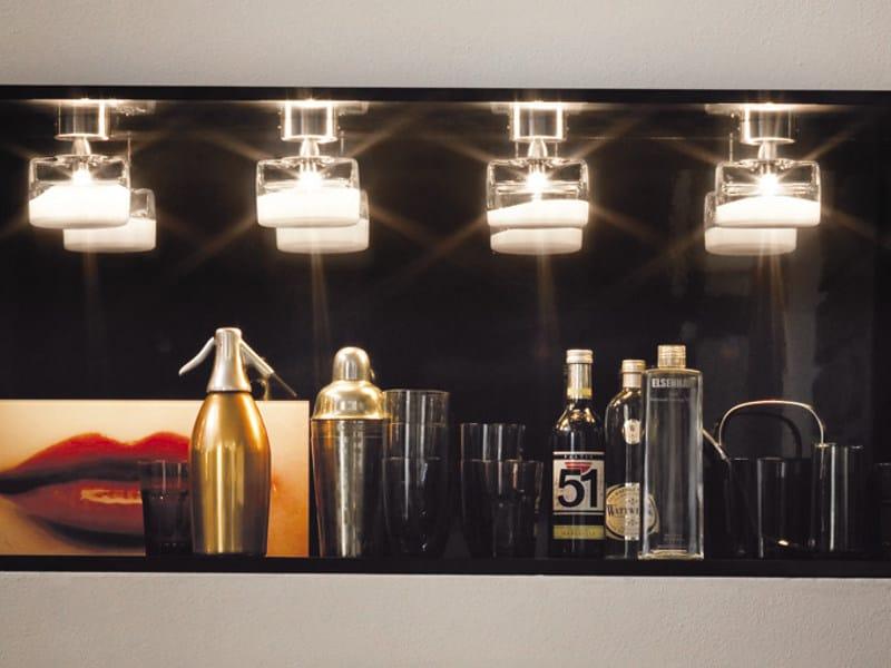 Ceiling glass spotlight MAGIE FA | Ceiling spotlight - Vetreria Vistosi