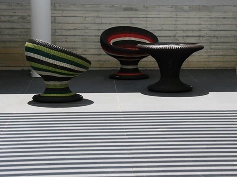 Indoor/outdoor porcelain stoneware wall/floor tiles BASALTINA - DSG Ceramiche