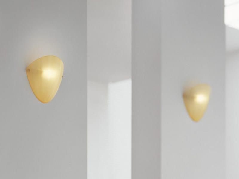 Blown glass wall light MAREA AP 24 - Vetreria Vistosi