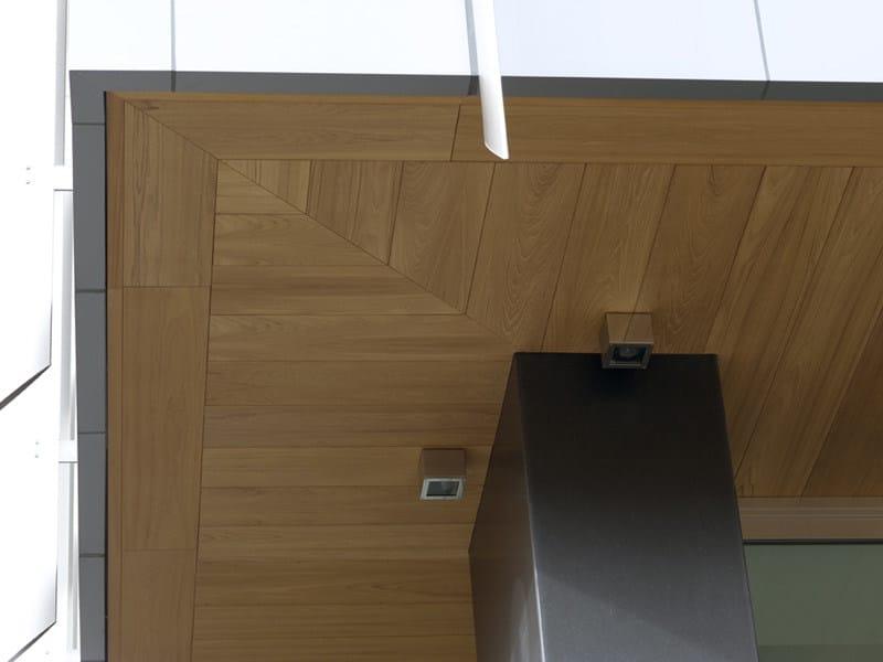 Pannello in legno per facciate pannelli per for Controsoffitto in legno