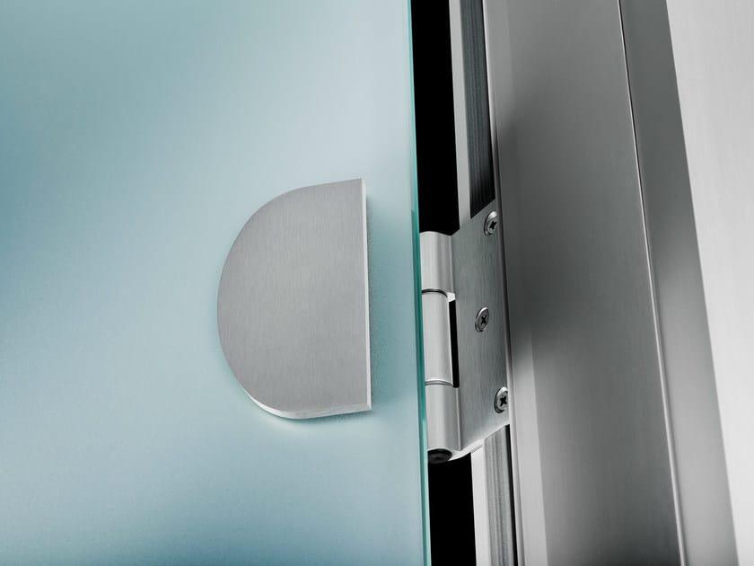 Porta a battente in vetro senza telaio easydoor - Porte interne senza telaio ...