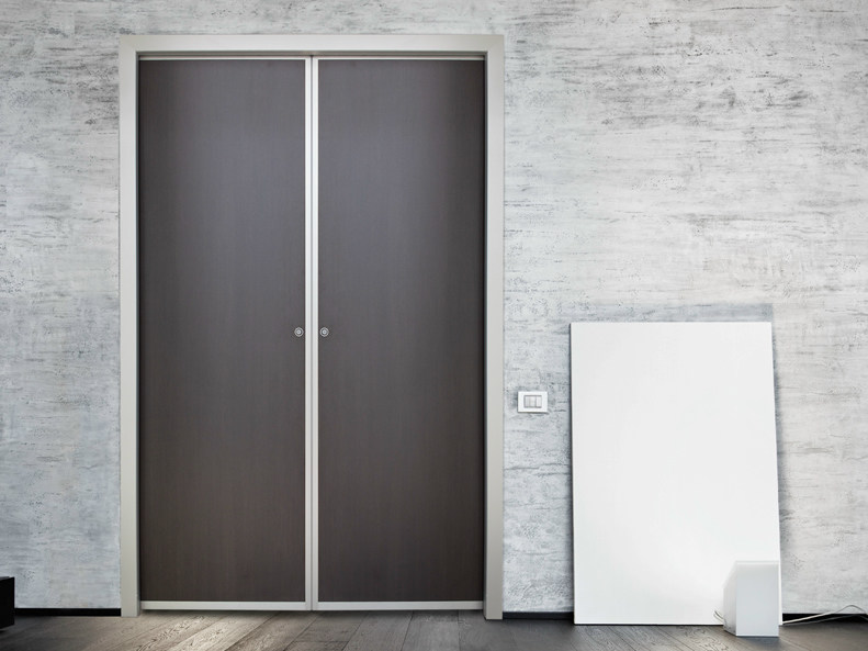Wooden pocket sliding door EASYDOOR | Pocket sliding door - ALsistem