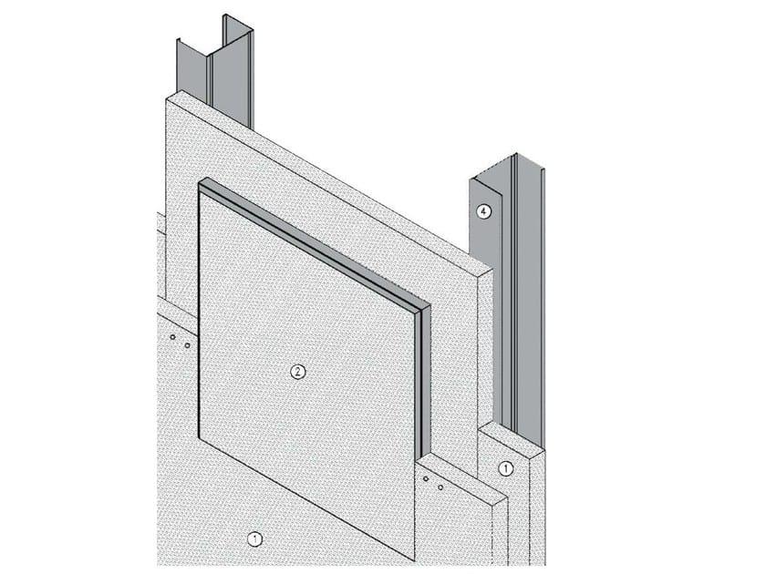 Fireproof inspection chamber AKI VERTICAL EI - EI120 - ITP
