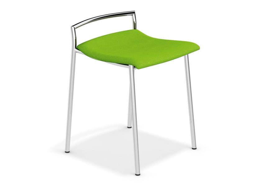 Low fabric stool FENIKS BARSTOOL | Low stool - Casala