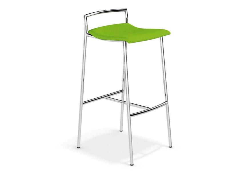 High fabric stool FENIKS BARSTOOL | High stool by Casala